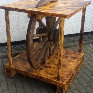 Stehtisch Wagenrad
